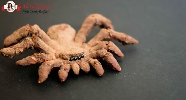 örümcek kurabiye
