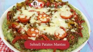 Sebzeli Patates Mantısı