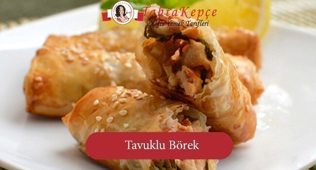 Tavuklu Borek