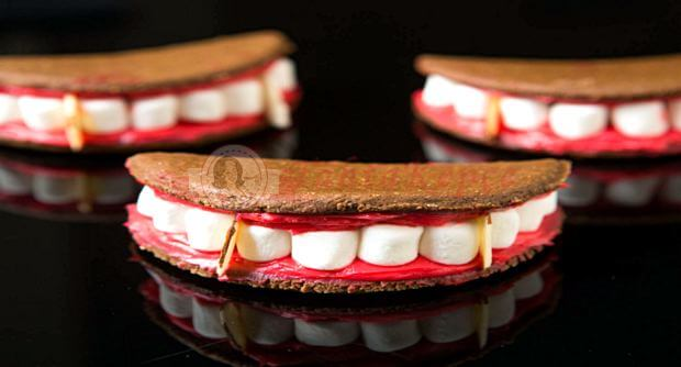 vampir ağzı kurabiye