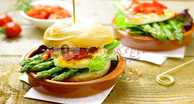 vejetaryen hamburger