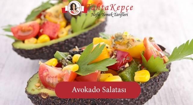 Diyetin Vazgeçilmezi: Avokado Salatası