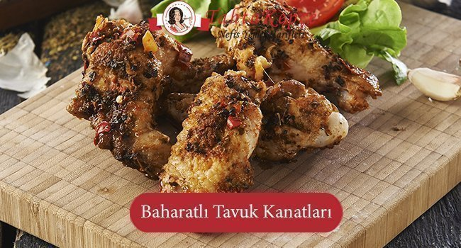 Baharatlı Tavuk Kanatları