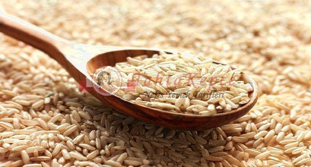 çıtır kahverengi pirinç