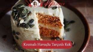 Gün Tabaklarının Vazgeçilmezi: Kremalı Havuçlu Tarçınlı Kek