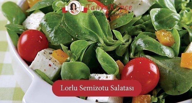 Lorlu Semizotu Salatası