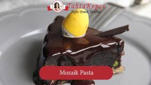 Çocukluğumuzun En Değerli Lezzetlerinden: Mozaik Pasta