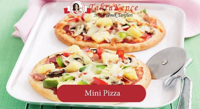 Tek Lokmalık: Mini Pizza