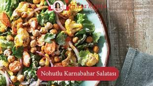 Nohutlu Karnabahar Salatası