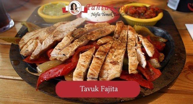 Lezzetin Adı: Tavuk Fajita