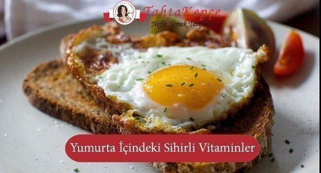 yumurta içerisindeki sihirli vitaminler