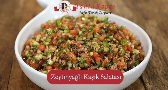 Zeytinyağlı Kaşık Salatası