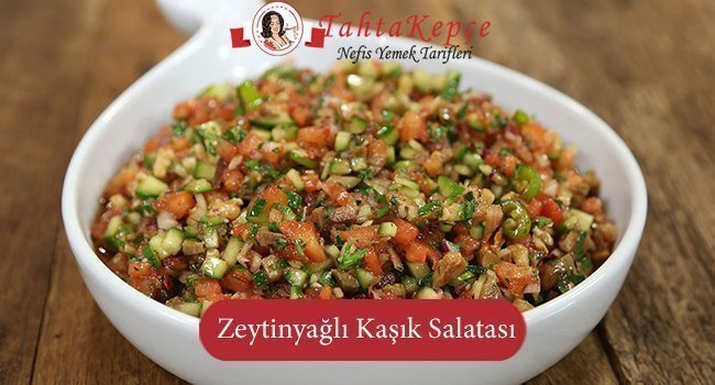 Zeytinyagli Kasik Salatasi