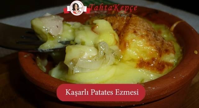 Tereyağı Bol: Kaşarlı Patates Ezmesi