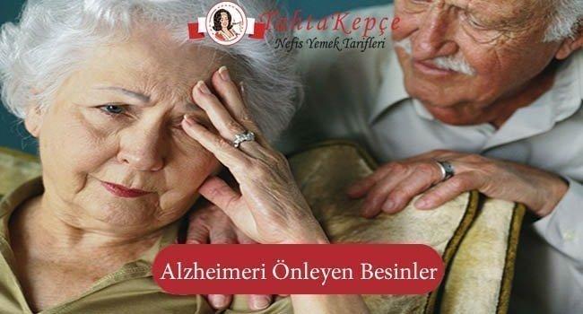 Alzheimerı Önleyen Besinler