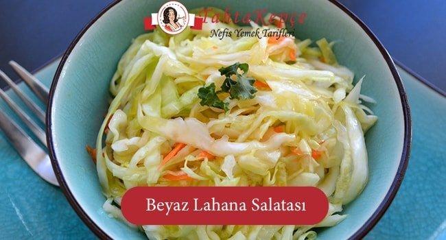 Diyetlerinizin Vazgeçilmezi Olmaya Aday: Beyaz Lahana Salatası