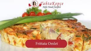 Bize Biraz Yerli Biraz Yabancı : Frittata Omlet