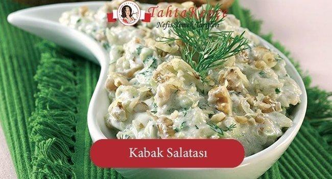 kabak salatası tarif