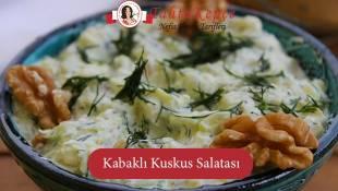 Kabağın Ceviz ile Eşsiz Dansı: Kabaklı Kuskus Salatası