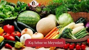 Kışın En Sağlıklı Sebze Ve Meyveleri