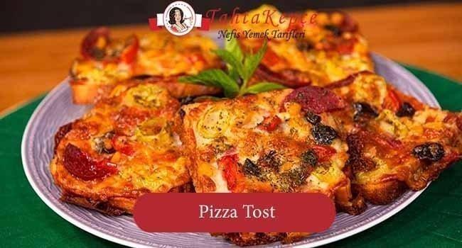 Kahvaltılara Alternatif Bir Lezzet: Tost Pizza