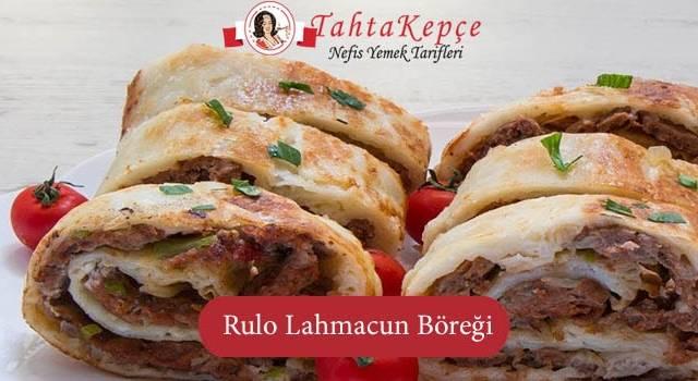 Rulo Lahmacun Böreği
