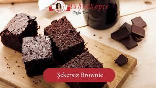 Yapımı Kolay: Şekersiz Brownie