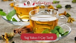 Hızlı Yağ Yaktıran 5 Etkili Çay Tarifleri