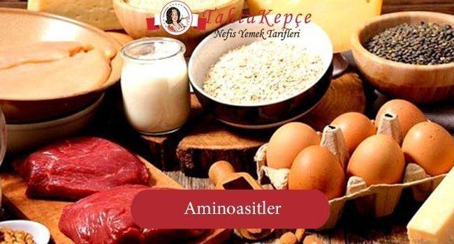 Vücudumuz için Gerekli olan Aminoasitler