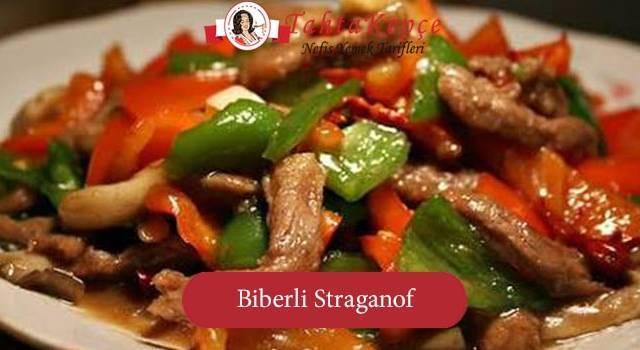 Muhteşem Bir Et Yemeği: Biberli Straganof Tarifi
