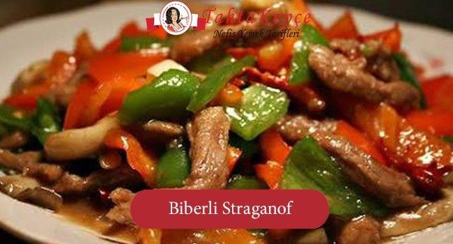 Biberli Straganof Tarifi