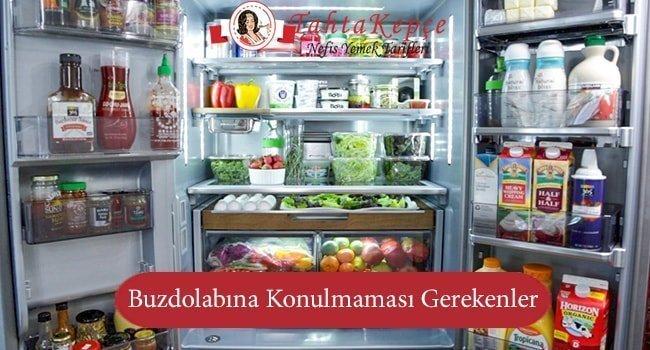 Buzdolabına Konulmaması Gereken 10 Yiyecek