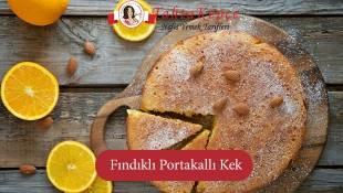 Damaklarda Lezzet Bırakan Tarif:Fındıklı Portakallı Kek