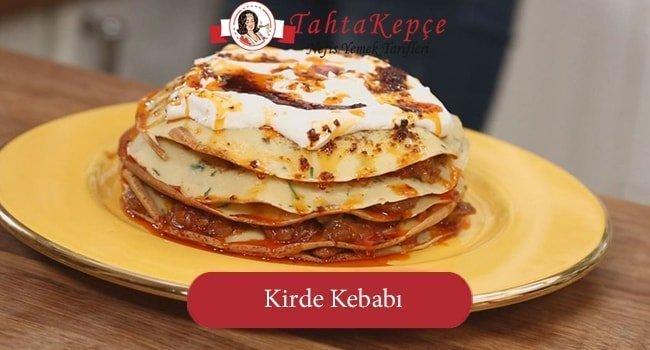 Saray Yemeği: Kirde Kebabı