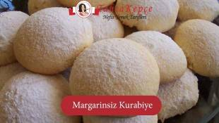 Yapımı Kolay: Margarinsiz Kurabiye