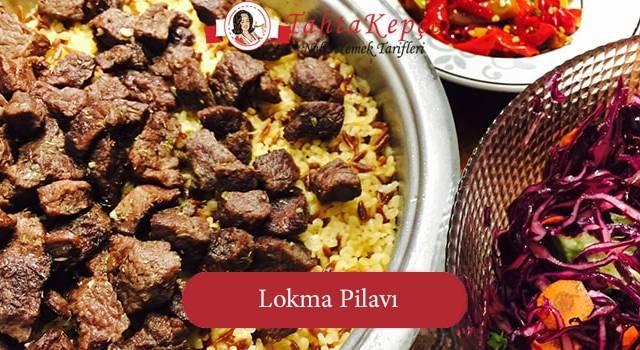 Bulgur Ve Etin Muhteşem Birleşimi : Lokma Pilavı