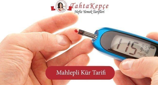 Şeker Hastalığına Mahlepli Süper Kür Tarifi