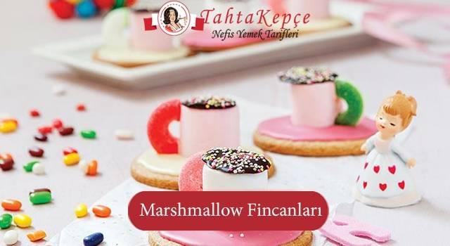 Çocukların Bayılacağı: Marshmallow Fincanları