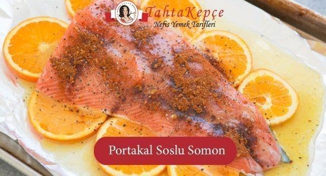 Denizin Lezzetli Balığı: Portakal Soslu Somon