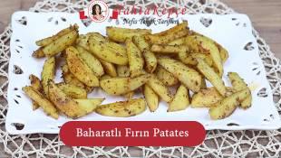 Baharatlı Fırın Patates
