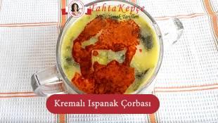 Kremalı Ispanak Çorbası