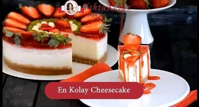 En Kolay Cheesecake