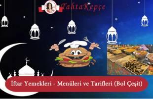 iftar yemekleri