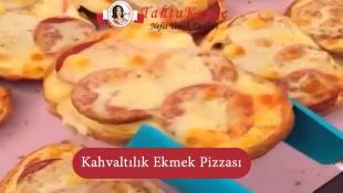 Kahvaltılık Ekmek Pizzası