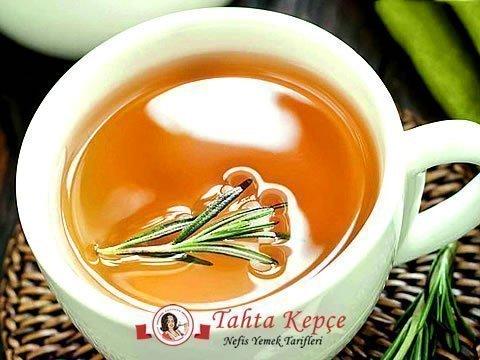 yağ yakıcı biberiye çayı