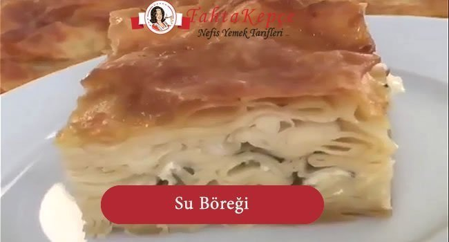Su Böreği