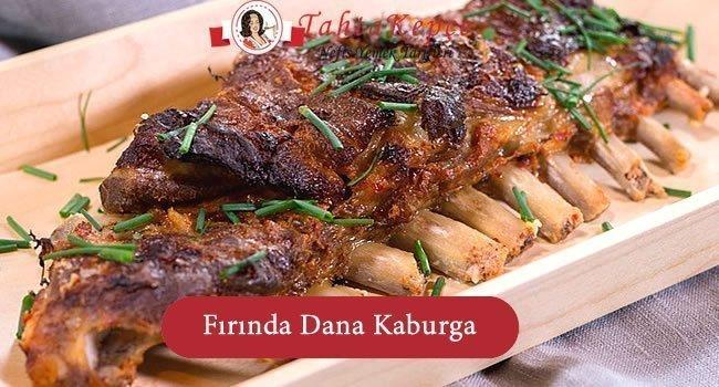 Fırında Dana Kaburga