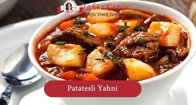 Patatesli Yahni
