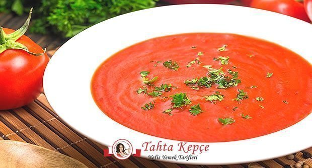 çorba domatesli