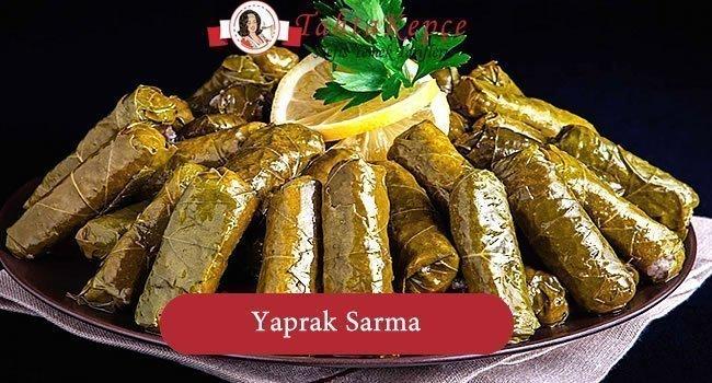 Yaprak Sarma (Etli)